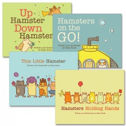 Hamster Board Books - Set of 4