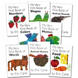 My Very First Board Books - Set of 8