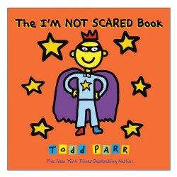 The I'M NOT SCARED Book - Hardcover