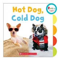 Hot Dog, Cold Dog - Board Book