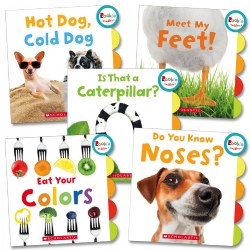Rookie Toddler Concept Board Books (Set of 5)