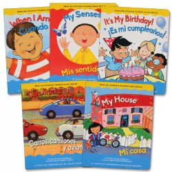 Dual Language Learner Board Books - Set A (Set of 5)