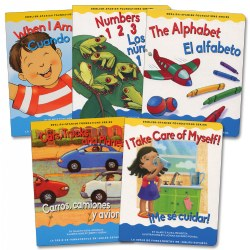 Dual Language Learner Board Books Set A - Set of 5