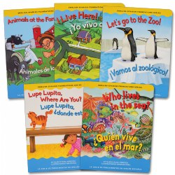 Dual Language Learner Board Books Set B - Set of 5