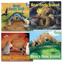 Bear's Adventures Board Book Set - Set of 4
