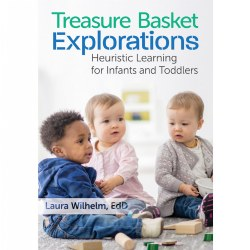 For the littlest learners, everything is an activity--feeling a rock, trying to lick a bubble, smelling a flower, or poking sand. In this book, teachers and caregivers of infants and toddlers will learn how these simple explorations support cognitive and vocabulary development. The book explains heuristic learning--discovery by trial and error--and how to encourage this type of learning to boost development. Through his explorations, the child is answering some fundamental questions: What is this and what can I do with it? Later, he will add to his knowledge: What else can this do and what can this become? This is cognitive development in action! Age focus: 0-3. Paperback. 80 pages.