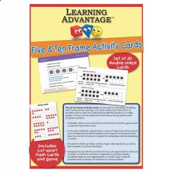 Five and Ten Frame Activity Cards