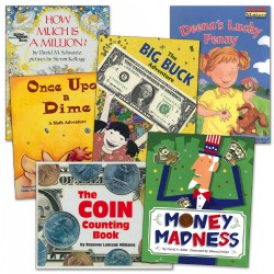Learning to Count Money Books - Set of 6