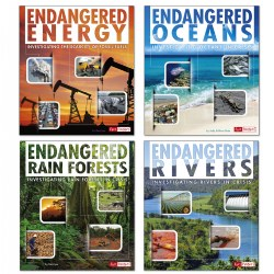 Endangered Book Set (Set of 4)