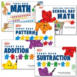 Teddy Bear Math Books - Set of 5