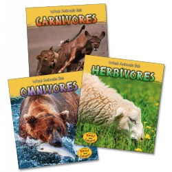 What Do Animals Eat Books - Set of 3