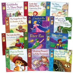 Classic Tales Bilingual Books (Set of 12)