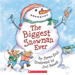 The Biggest Snowman Ever - Paperback