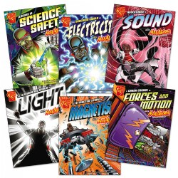 Graphic Science Book Set A - English (Set of 6)