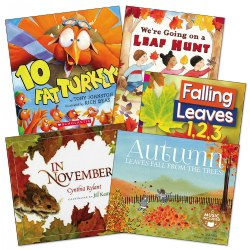 Fall Theme Books - Set of 5