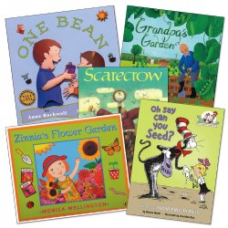 Garden Theme Books - Set of 5