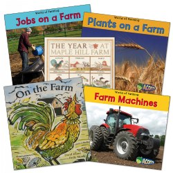 Farm Theme Books - Set of 5