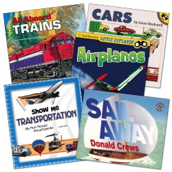 Transportation Theme Book Set (Set of 5)