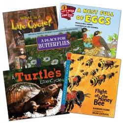 Life Cycle Theme Book Set (Set of 5)
