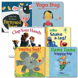 Let's Get a Move On Board Book Set (Set of 6)