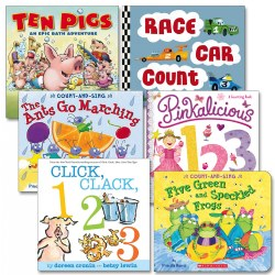Counting Is Fun Board Book Set (Set of 6)
