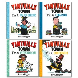 Tinyville Town Board Book Set (Set of 4)