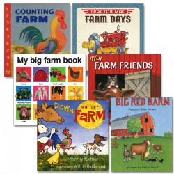 Visit the Farm Board Book Set (Set of 6)
