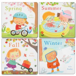 Seasons of the Year Board Book Set (Set of 4)
