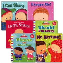 Learning Manners Board Book Set (Set of 6)