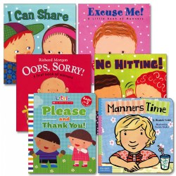 Learning Manners Board Books - Set of 6