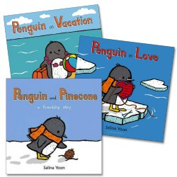 Penguin's Adventures Board Books (Set of 3)