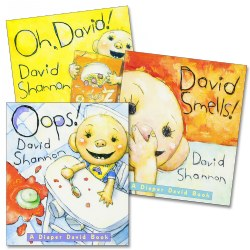 David Board Books - Set of 3