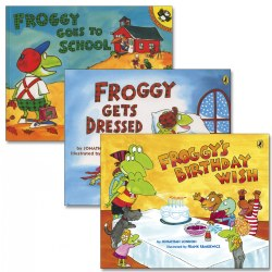 Froggy Adventure Books (Set of 3)