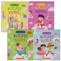 Fundamental Nursery Rhymes Big Book Set (Set of 4)