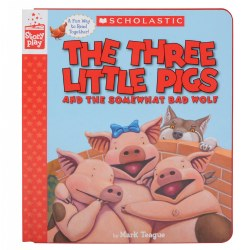 The Three Little Pigs and the Somewhat Bad Wolf - Paperback