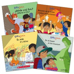 Eric and Julieta Escapades Bilingual Books - Set of 4