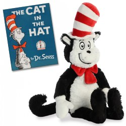 The Cat in the Hat - Plush and Hardback Book
