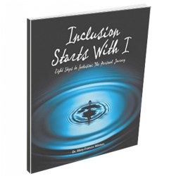 Inclusion Starts with I-Eight Steps to Inclusion: The Personal Journey - Hardcover