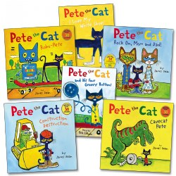 Pete the Cat Book Collection (Set of 6)