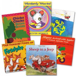 Popular Phonemic Awarnes Books - Set of 6