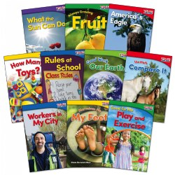 Time for Kids Nonfiction Reader Books Grade K Set 2 - Set of 10