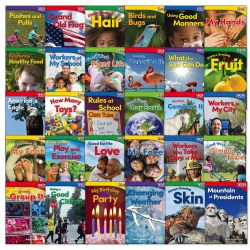 TIME FOR KIDS® Nonfiction Readers Grade K (Set of 30)