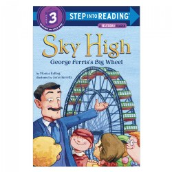 Sky High: George Ferris's Big Wheel - Paperback