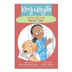 King & Kayla and the Case of the Secret Code - Paperback