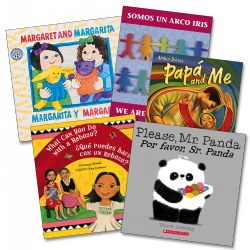 Bilingual: English/Spanish Books - Set of 5
