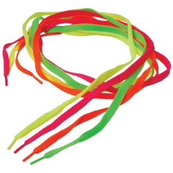Neon Laces - Pack of 12 Pairs