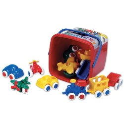 Chubbie Vehicles - Set of 15
