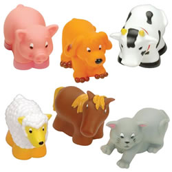 Infant and Toddler Soft Farm Buddies - Set of 6