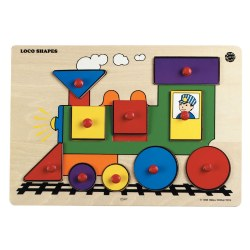 Loco Puzzle Shapes Level 2