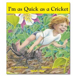I'm as Quick as a Cricket - Board Book